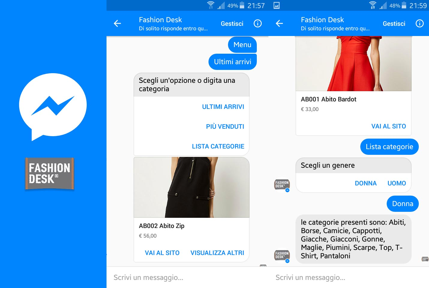 Fashion Desk CHATBOT